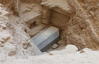 العثور على تابوت أثري من الجرانيت شرق الإسكندرية