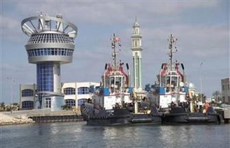 انتظام حركة الملاحة بميناء دمياط وبوغاز عزبة البرج