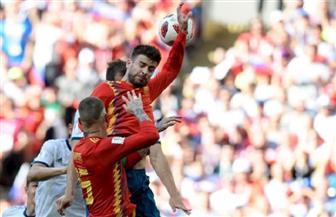 تعادل إيجابي في الشوط الأول لمواجهة إسبانيا وروسيا  في المونديال   صور