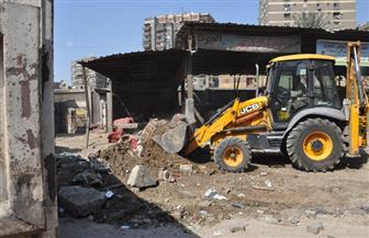 الجيزة ترفع 1000 م3 مخلفات وقمامة خلف سوق ناهيا.. والمحافظة تدرس تطوير السوق| صور