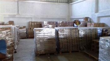 ضبط مخزن غير مرخص تابع لمصنع حلويات بداخله سلع غذائية مجهولة بالقليوبية