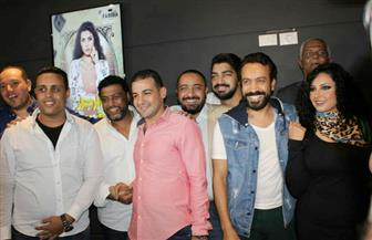 """سامح حسين وإدوارد وسلمى الشرقاوي يحتفلون بالعرض الخاص لفيلم """"الرجل الأخطر"""" صور"""