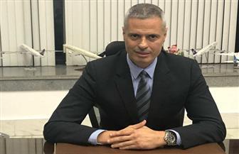رئيس مصر للطيران يلتقي نظيره الجديد لبوينج العالمية بمعرض دبي للطيران