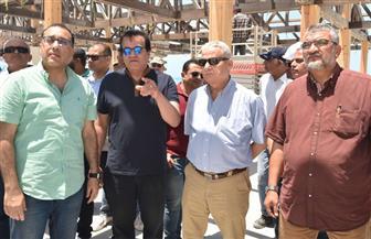 رئيس الوزراء يتفقد سير العمل بمشروعات مدينة العلمين الجديدة |  صور