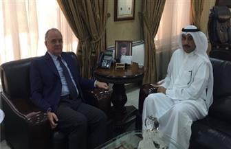 """وزير العمل الأردني يستقبل مدير منظمة العمل العربية لبحت تنظيم المنتدى العربي الثاني """"تمكين وتشغيل"""""""