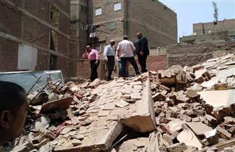 نائب محافظ القاهرة: توفير مساكن لإيواء الأسر المتضررة من انهيار العقار بدير الملاك   صور