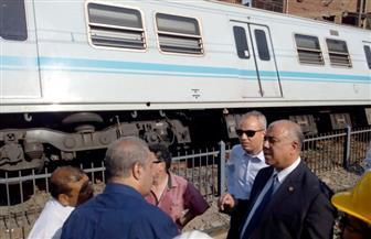 وزير النقل يصدر قرارا بتشكيل لجنة لدراسة أسباب خروج عربتين من المترو بمحطة المرج القديمة
