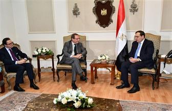 وزير فرنسي مفوض خلال لقائه بوزير البترول: السوق المصرية من أهم الأسواق الخارجية