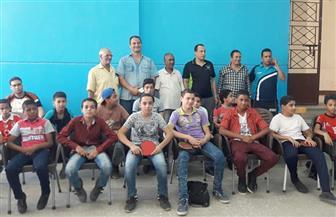 37 لاعبا يشاركون في المرحلة النهائية لاختبارات المشروع القومي لاكتشاف الموهوبين بقنا | صور