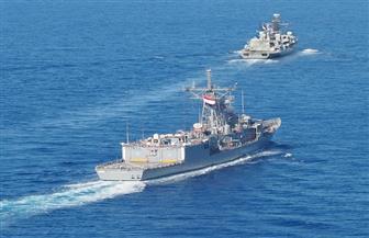 مصر وبريطانيا تنفذان تدريبا بحريا مشتركا بالبحر الأبيض المتوسط