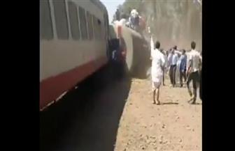 وزيرة التضامن توجه فرق الإغاثة لموقع حادث قطار البدرشين