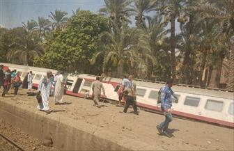 مساعد وزير الصحة: 34 شخصا حصيلة إصابات حادث قطار البدرشين