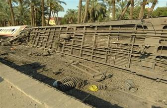 """نائب محافظ الجيزة لـ""""بوابة الأهرام"""": الإصابات في حادث قطار البدرشين بسيطة.. ونقلهم لـ 3 مستشفيات"""
