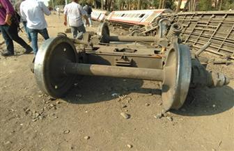 حبس سائق قطار البدرشين ومساعده و٥ من العاملين 4 أيام على ذمة التحقيق