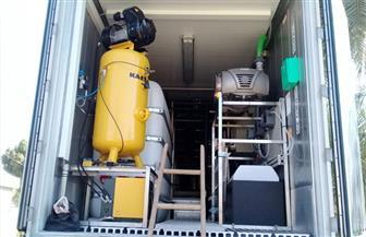 وصول معدات محطة مياه الشرب فائقة الترشيح إلى قرية حجازة بقنا