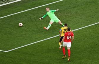 هازارد يسجل هدف بلجيكا الثاني في شباك إنجلترا