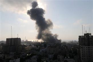 المرصد السوري: 17 جريحا جراء قصف إسرائيلي على مدينة مصياف السورية