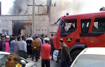 إصابة 3 أشخاص في حريق بقرية العركي بقنا