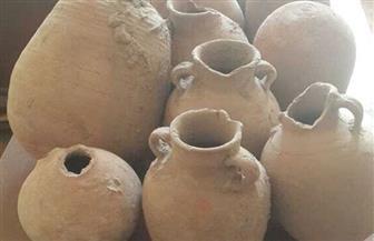 العثور على 80 قطعة فخارية أثرية أسفل منزل قديم بالإسكندرية