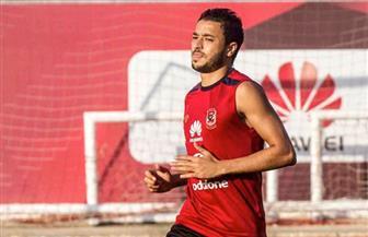 باسم علي يشارك في التدريبات البدنية ويواصل التأهيل