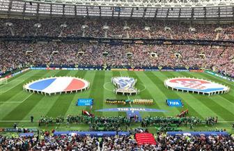 بدء مباراة نهائي كأس العالم بين فرنسا وكراوتيا | صور