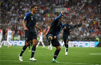 نهائى كأس العالم.. فرنسا تتقدم بهدفين لهدف فى الشوط الأول | صور