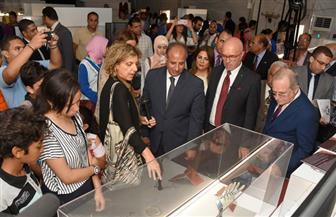 """يعقد لأول مرة خارج بلاده.. مكتبة الإسكندرية تفتتح معرض """"إيطاليا جمال المعرفة"""""""