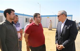 محافظ قنا يتفقد الموقع المخصص لإنشاء محطة كهرباء نجع حمادي|صور