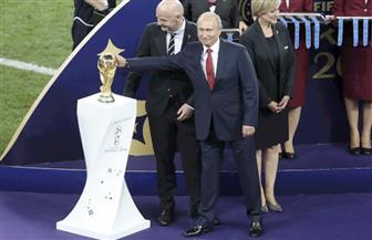 بوتين: روسيا يمكنها أن تفخر بتنظيم كأس العالم