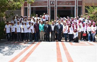 جامعة القاهرة تواصل فعاليات معسكر إعداد قادة المستقبل | صور