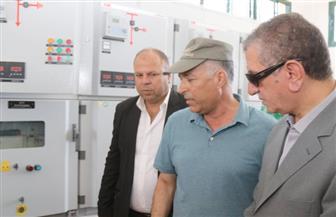 """إطلاق التشغيل التجريبي للوحة توزيع الكهرباء بمركز """"الرياض"""" بكفر الشيخ   فيديو صور"""