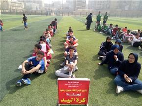 اختبار الموهوبين رياضيا فى كرة اليد والملاكمة بمحافظة الغربية