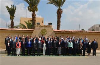 وزيرة السياحة تلتقي أعضاء التمثيل العسكري المصري المرشحين للعمل بسفاراتنا بالخارج| صور