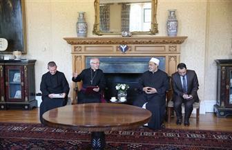 """الإمام الأكبر خلال حوار """"الأزهر والكنيسة الإنجليكانية"""": أتمنى لقاء الله وأنا سائر في طريق صنع السلام"""