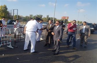 مدير أمن الإسكندرية يتفقد الخدمات الأمنية بمحيط إستاد برج العرب قبل مباراة الأهلي وتاونشيب