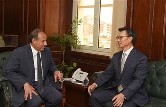 محافظ الإسكندرية يستقبل سفير كوريا الجنوبية | صور