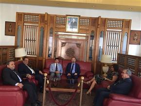 وصول وزير الرياضة  الجزائر لحضور افتتاح دورة الألعاب الإفريقية للشباب