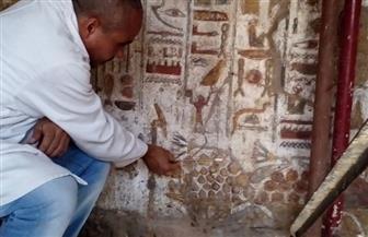 انتهاء أعمال ترميم مقصورات وصالات وغرف معبد الأقصر | صور