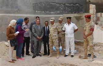 محافظ الإسكندرية يتفقد أكبر تابوت أثرى يعود للعصر البطلمى| صور وفيديو
