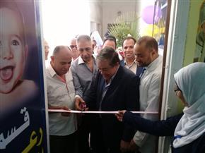 افتتاح قسم رعاية الأطفال ووحدة مناظير بمبنى مستشفى سمنود القديم| صور