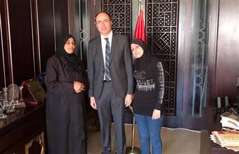 """سفارة مصر بسوريا تخرج عائلتين مصريتين من """"الغوطة الشرقية"""" و""""الحجر الأسود"""" وتعيدهم لأرض الوطن"""