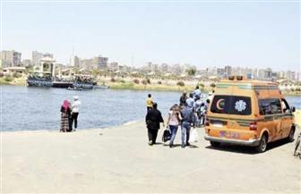 مصرع 4 مواطنين فى انقلاب سيارة فى نهر النيل بالبحيرة