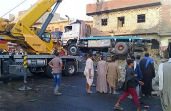 مصرع 12 مواطنا وإصابة 28 في حادث مروع بالمنيا