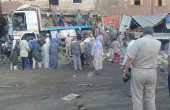 """وزيرة الصحة تتابع حادث """"المنيا"""" وتوجه بتوفير كافة الرعاية الطبية للمصابين"""