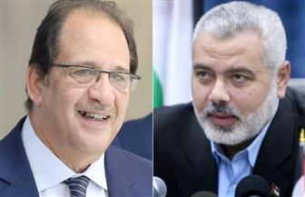 هنية يبلغ اللواء عباس كامل موافقة حماس على الورقة المصرية