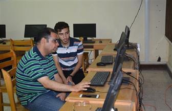 جامعة الفيوم: 359 طالبا وطالبة سجلوا رغباتهم بمعامل التنسيق | صور