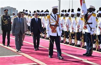 الرئيس السيسي: سعادتي بالغة بزيارتي للسودان الشقيق والروابط بيننا خالدة كمجرى النيل