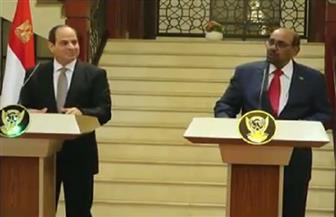 ما يجمع مصر والسوادن لا يمكن حصره.. ننشر نص كلمة الرئيس السيسي في الخرطوم