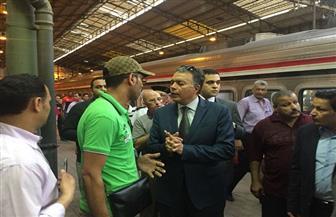 وزير النقل: المواطن سيرى بداية نقلة نوعية كبيرة في السكك الحديدية قبل نهاية 2019 | صور