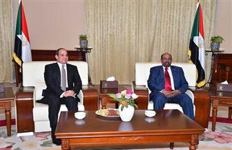 تفاصيل مباحثات الرئيس السيسي ونظيره السوداني بالخرطوم اليوم | صور
